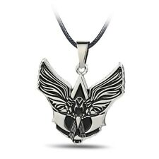 Necklace Assassins Creed Tribal Insignia Wings Logo Pendant Game Silver Gift