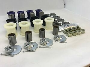 Triumph TR2, TR3, TR3A, TR3B & TR4 Uprated Front Suspension Bush Kit GAC6068U.