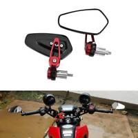 22mm Manubrio Laterali Retrovisori Moto Specchietti Per Yamaha Kawasaki Ducati