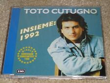 Eurovision Song Contest 1990 Italy Toto Cutugno Insieme: 1992 CD single