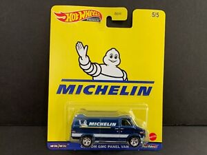 Hot Wheels Custom GMC Panel Van Michelin DLB45-946K 1/64