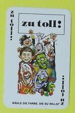 Ersatzkarte Mad Kartenspiel // Zu Toll