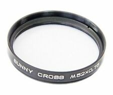 Sunny Cross filter M52x0,75 for SLR Zenit cameras made by KMZ (8 point flare)