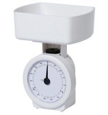 NEW Salter Tesco Branded 3kg Mechanical Kitchen Cooking Weighing Scales White