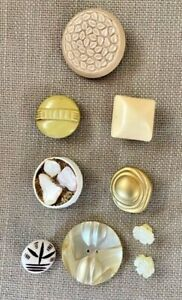 Lot of Unusual Buttons, including Celluloid