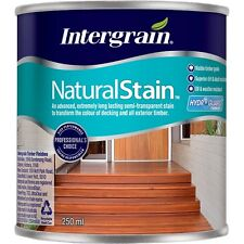 Intergrain 250ml Cedar / Cypress NaturalStain Water Based Exterior Stain