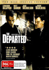 The DEPARTED : 2-Disc Special Edition : NEW DVD