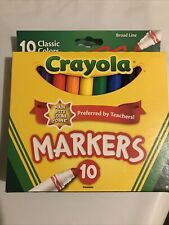 2 Packs Crayola Markers , 10-Colors