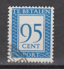 P104 Port nr 104 used gestempeld NVPH Nederland Netherlands due portzegel