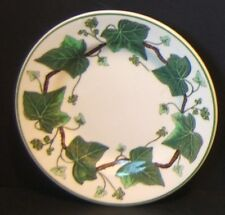 """Wedgwood Napoleon Ivy 5.5"""" Small Bread & Butter Plate A L 4751 Green Queens Ware"""