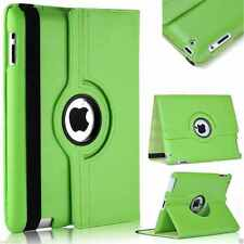 Rotating Stand Leather iPad Case Cover For iPad 2 3 4 Mini 2 3 4 Air 1 2 Pro 9.7