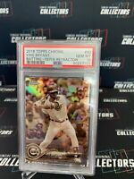 2018 Topps Chrome Sepia Refractor #50 Kris Bryant PSA 10 Chicago Cubs