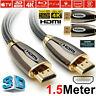 PREMIUM HDMI Cable v2.0 HD High Speed 4K 2160p 3D Lead 1m/2m/3m/4m/5m/7m/10m