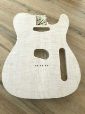 Telecaster Body, us swamp ash, curly maple Top, unfinished