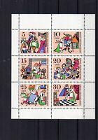DDR - Kleinbögen - verschiedene Jahrgänge - Postfrisch + Gestempelt