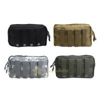 1000D Tactical MOLLE Accessory Pouch EDC Utility Tools Bags Outdoor Waterproof