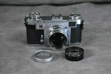 [SLR Camer Set] Contax Ikon IIa with Zeiss-opton Sonnar 50mm F1.5