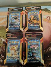 Pokemon Evolutions  Legacy Pack Plus 5 Card Blister complete art set charizard