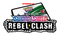 50x Rebel Clash Sword & Shield Codes Pokemon TCG Online Booster sent IN GAME!