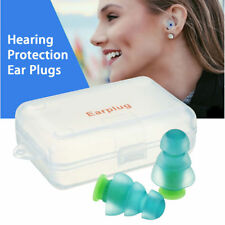 Noise Cancelling Earplugs Ear Plugs Concerts Musicians Motorcycles Travel Kit