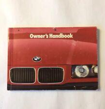 BMW 3 Series E36 Saloon Coupe Proprietari Manuale Manuale 320 325td 318 316 HO è