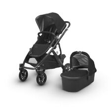 UPPAbaby Vista 2018 Pram With Bassinet - Jake (Black)