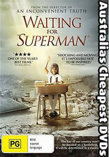 Waiting For Superman DVD NEW, FREE POSTAGE WITHIN AUSTRALIA REGION 4