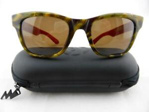 Electric DETROIT Sunglasses Hunter Tort - Bronze Lens with Hard Case