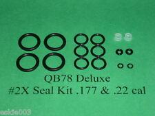 QB78 XS78 TH78 QB78S Two (2) Complete O-Ring Reseal  Seal Kits  .177 &  .22 cal.