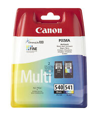 Canon PG-540 CL541 Multi-pack Ink Cartridge (Black, Cyan, Magenta, Yellow)