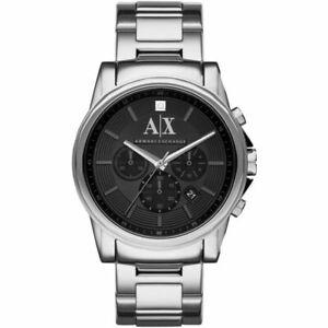 NEW MENS ARMANI EXCHANGE AX CHRONO DIAMOND WATCH - AX2504 - RRP £199