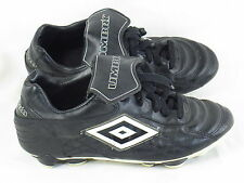 Umbro Black Baseball Softball Cleats Boys Size 5.5 US Excellent Condition
