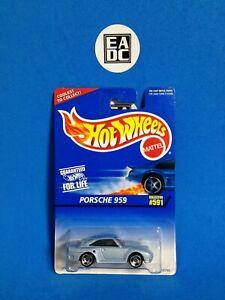 1996 HOT WHEELS BLUE CARD PORSCHE 959 METALLIC BLUE #591 EADC