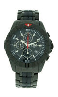 Fila FA0794-61 Mastertime Men's Black Stainless Steel Analog Chronograph Watch