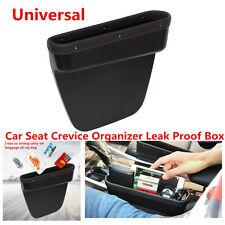 Leather Car Seat Crevice Contect Storage Box Organizer For Phone Card Cigarettes