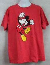 Mickey Mouse Boys Youth Young Mens T-Shirt New Red Size 18 20 Disney Licensed