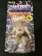 Masters of the Universe GLOW IN THE DARK Transforming He-Man SUPER 7 MOTU