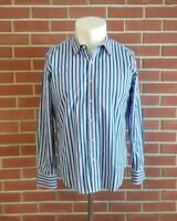 Robert Graham X Long Sleeve Button Front Shirt Mens Size Large Tailored Fit EUC