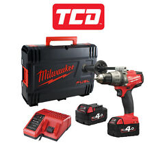 Milwaukee M18FPD-402 Fuel 2 Brushless Combi Drill with 2 x 4.0Ah & Hard Case