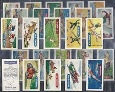 EWBANKS-FULL SET- SPORTS AND GAMES (25 CARDS) - EXC