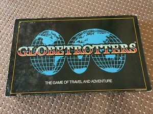 Globetrotters The Game of Travel and Adventure Board Game - AUS PARKER *RARE*