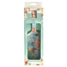 Pioneer Woman Spring Celia Cake Pie Server Ceramic Linen Aqua Teal  Floral NEW