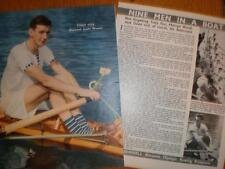 Photo UK sculls rower Tony Fox 1951