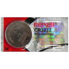 Maxell CMOS Motherboard 3v Lithium Coin Battery CR2032 NEW