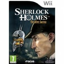 SHERLOCK HOLMES: L'Argent Boucle d'oreille (Wii) - jeu Nintendo