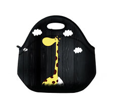 Girafee Neoprene Lunch Tote Insulated Reusable Picnic Lunch Bags Boxes for Kids