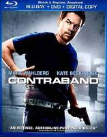 Contraband (Blu-ray/DVD, 2012, 2-Disc Set, Includes Digital Copy UltraViolet)