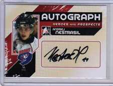 ANDREJ NESTRASIL 10/11 ITG Heroes & Prospects UPDATE Auto Autograph #A-AN Card
