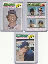 1977 Topps signed Dave Collins autograph Mariners  w/COA