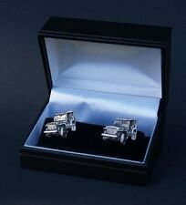 Jeep Cufflinks Car Cuff Links Gift Boxed New 3d Pewter FREE UK POST